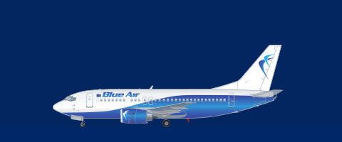 Blue Air - Fleet | Boeing aircraft