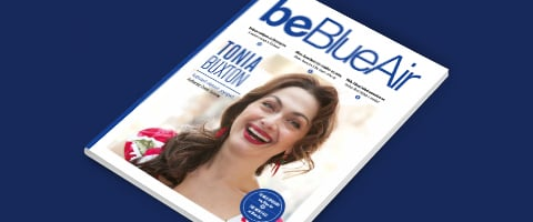 be blue air inflight magazine number 1 for Cyprus