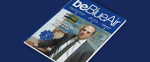 be blue air inflight magazine number 2 for Cyprus