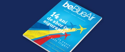be Blue Air inflight magazine number 48