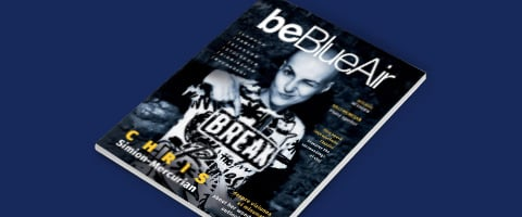 be Blue Air inflight magazine number 49