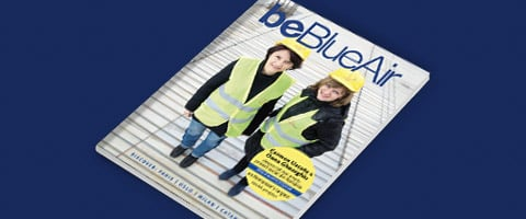 be Blue Air inflight magazine number 50
