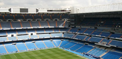 Santiago Bernabeu football stadium of Real Madrid