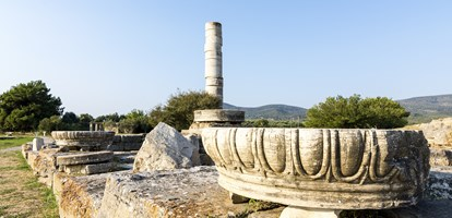 Heraion Ancient City, Samos Island