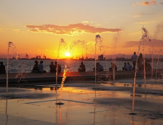 Fountains in Thessaloniki