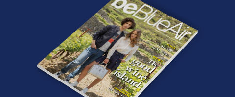 be blue air inflight magazine number 6 for Cyprus