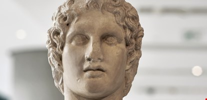 Portrait statue of Alexander the great