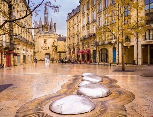 The Porte Cailhau or Porte du Palais is a former town gate of the city of Bordeaux, France. It is one of the main touristic attractions of the city.