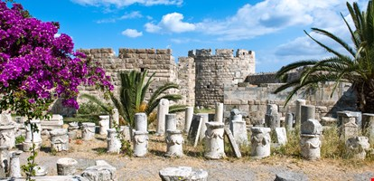 Greece, Dodecanese, Kos, the Knights of St. John castle