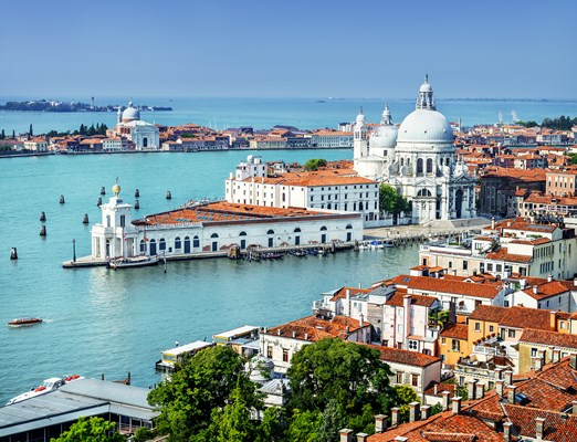 Venice, the city and canals
