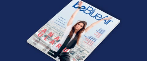 be Blue Air inflight magazine number 47