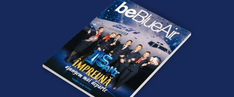 be Blue Air inflight magazine number 52