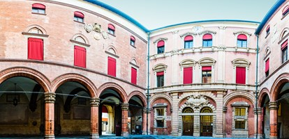 Palazzo d'Accursio or Palazzo Comunale is an palace once formulated to house major administrative offices of city of Bologna