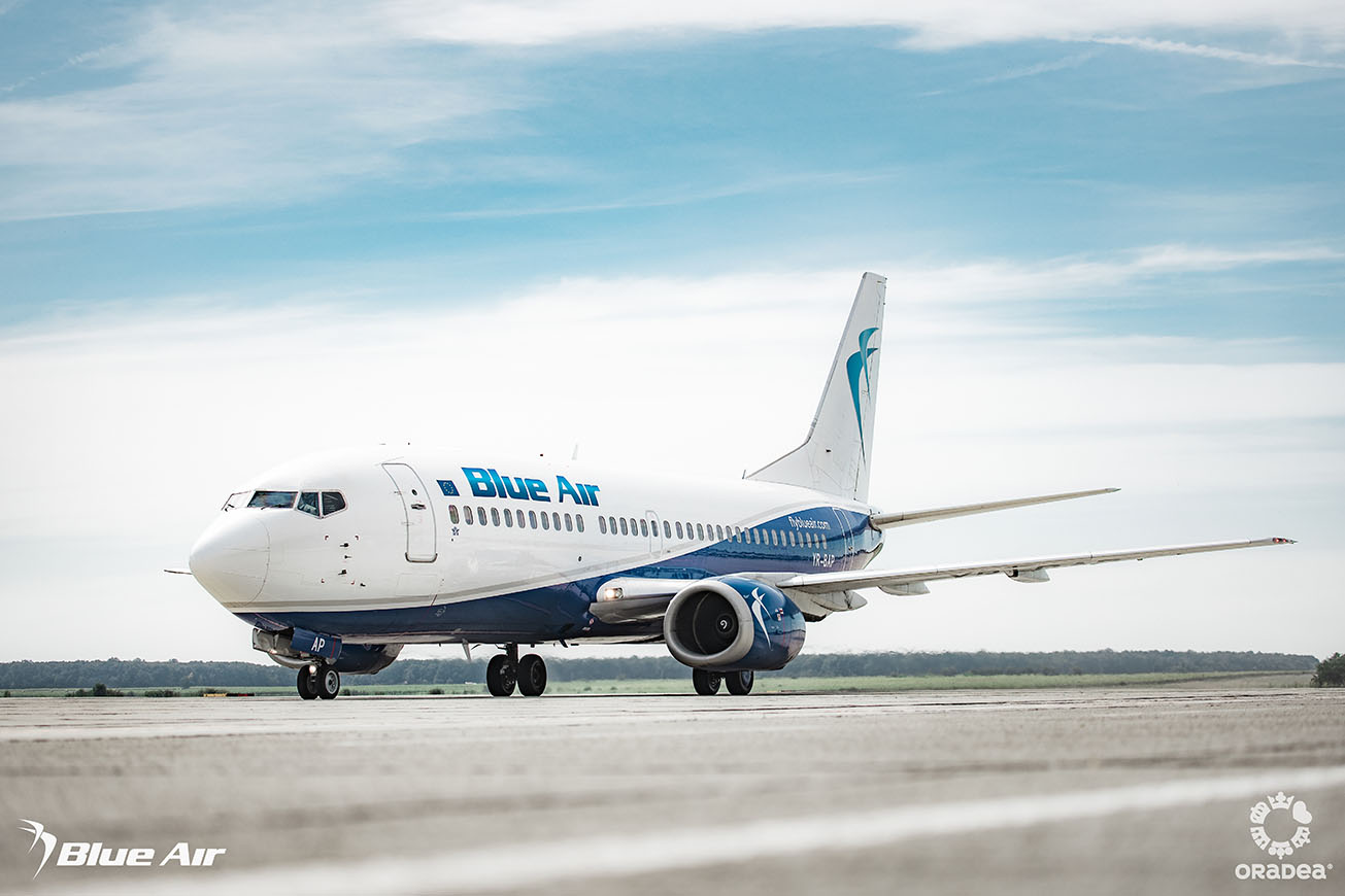 Blue Air Bucharest - London Heathrow flights