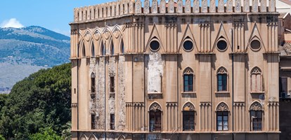 Norman palace in Palermo, Sicily, Italy