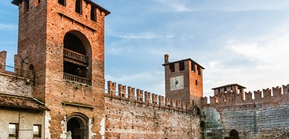 Castelvecchio in the City of Verona, Northern Italy