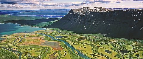 Sarek National Park blue air